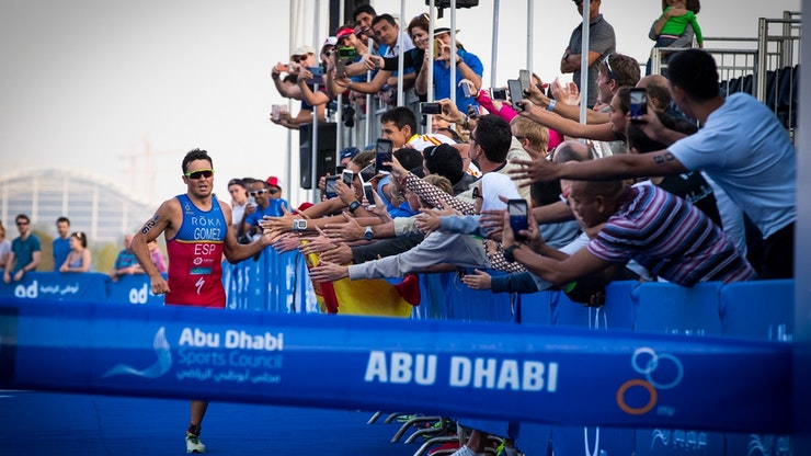 GOMEZ MAKES GOLDEN ITU WORLD TRIATHLON SERIES COMEBACK
