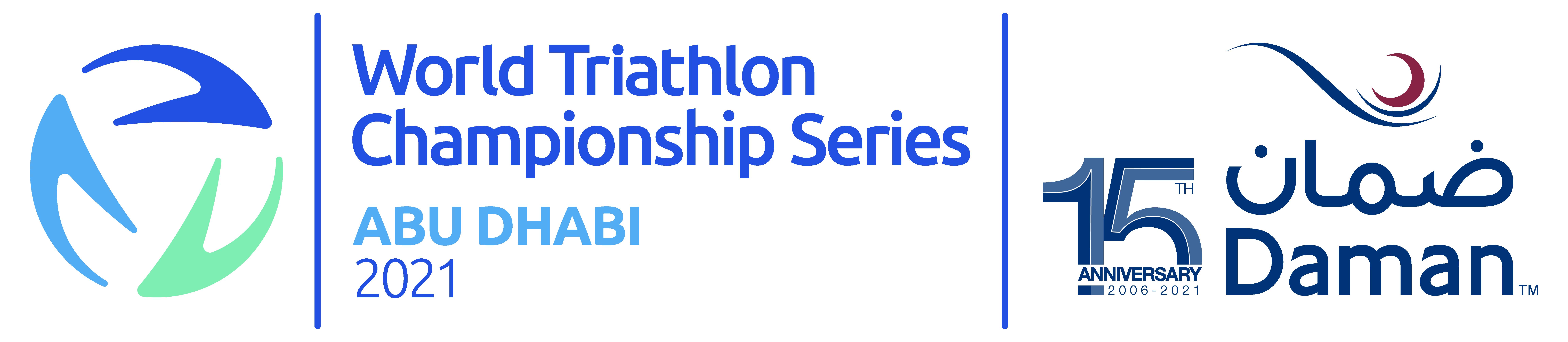 2021 World Triathlon Championship Series Abu Dhabi logo