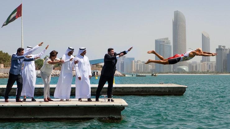ITU World Triathlon Series leaps into Abu Dhabi