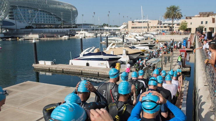 AGE GROUP TRIATHLETES SHINE AT THE ITU WORLD TRIATHLON ABU DHABI