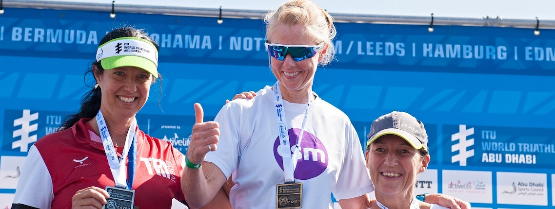 DAMAN'S TRI FIT CHALLENGE PARTICIPANTS HIT THE ITU WORLD TRIATHLON ABU DHABI 2018