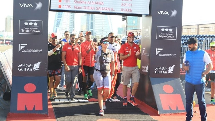 HOW SHAIKHA AL SHAIBA TRAINS FOR TRIATHLON SUCCESS