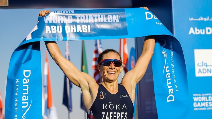 Magnificent Mola and proficient Zaferes clinch podium  top-spots at Daman World Triathlon Abu Dhabi