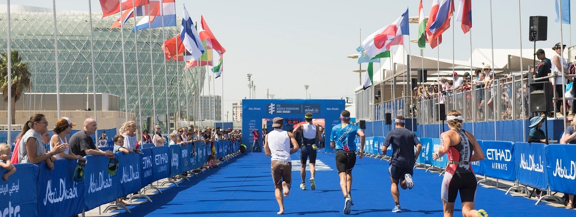 DUE TO THE ITU WORLD TRIATHLON ABU DHABI 2020 CANCELLATION
