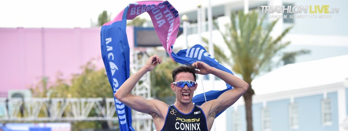 Dorian Coninx from France wins WTS Bermuda