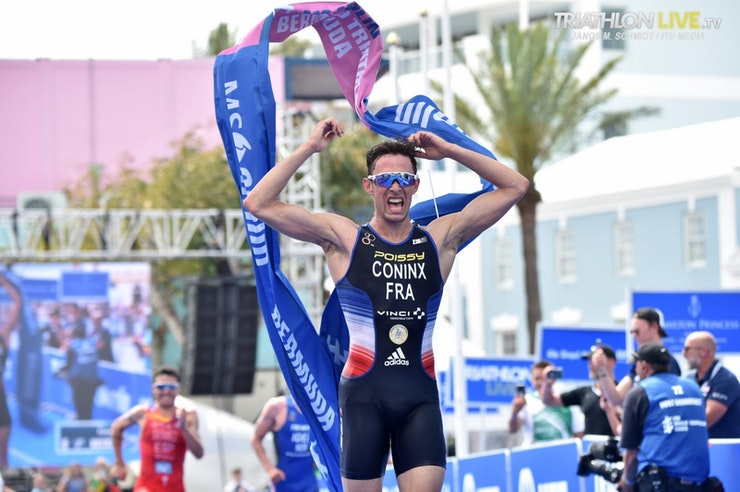 Dorian Coninx from France wins WTS Bermuda