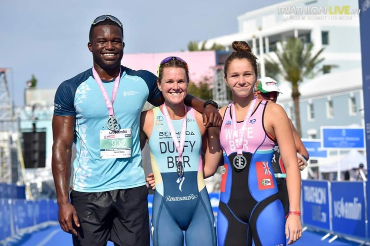 Duffy draws a crowd in Bermuda Age Group Race
