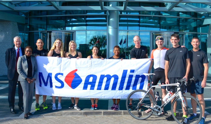 MS Amlin announces title sponsorship of the ITU World Triathlon Series in Bermuda
