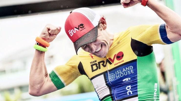 British Olympian and 4 x ITU World Champion Tim Don visits Bermuda