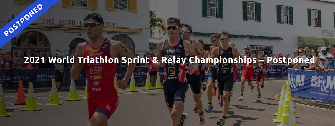 The World Triathlon Sprint & Relay Championships October 15-17 in Bermuda will not take place