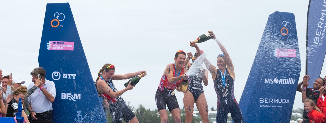 Flora Duffy wins MS Amlin World Triathlon Bermuda