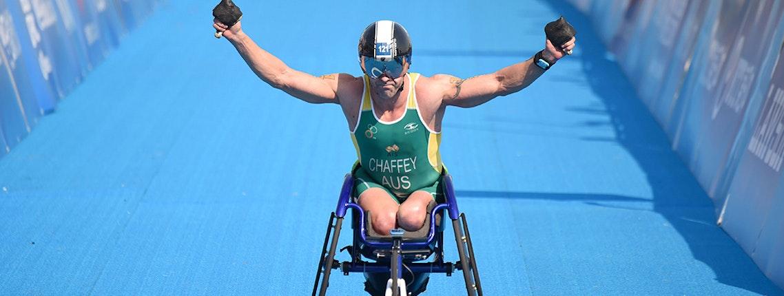 Paratri Superstars Debut in Jewel World Triathlon Gold Coast