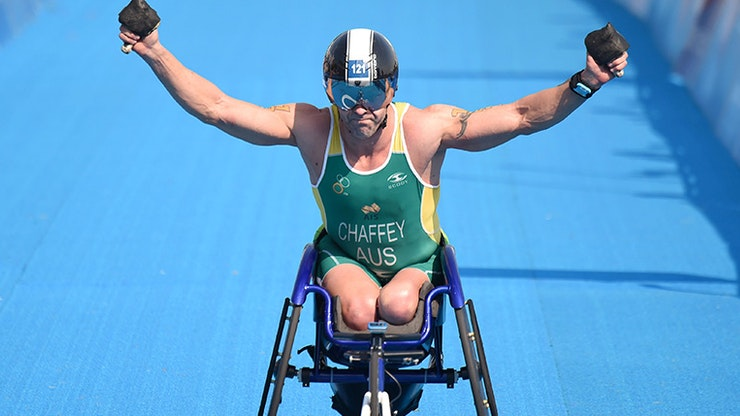Paratri Superstars Debut in Jewel World Triathlon Gold Coast