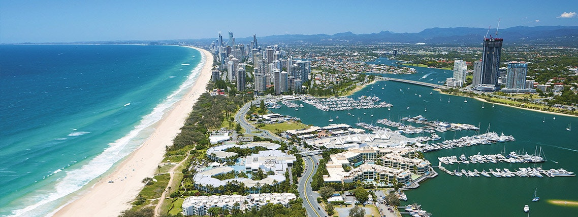 Ride the Wave to the Gold Coast Australia