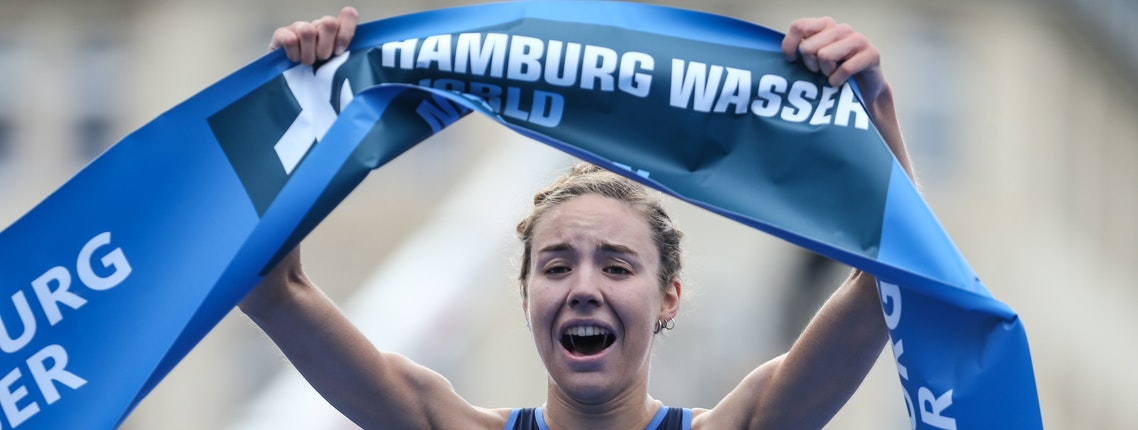 Hamburg feiert erste Triathlonparty mit tausenden Teilnehmern