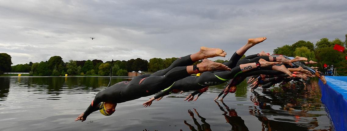 Das Comeback: Beim HAMBURG WASSER World Triathlon werden am Wochenende die neuen Weltmeister gekürt