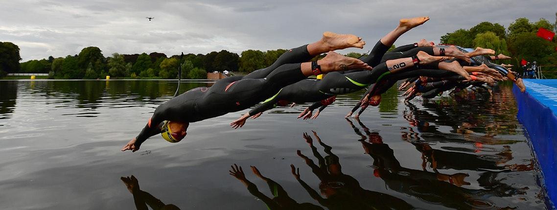 Ein gelungenes Triathlon Wochenende