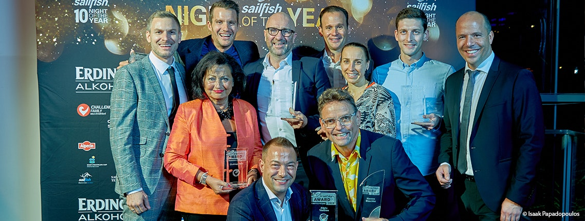 HAMBURG WASSER World Triathlon gewinnt triathlon-Award 2019 als bestes Kurzdistanz-Rennen