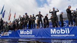 Hamburg Wasser World Triathlon Jedermann