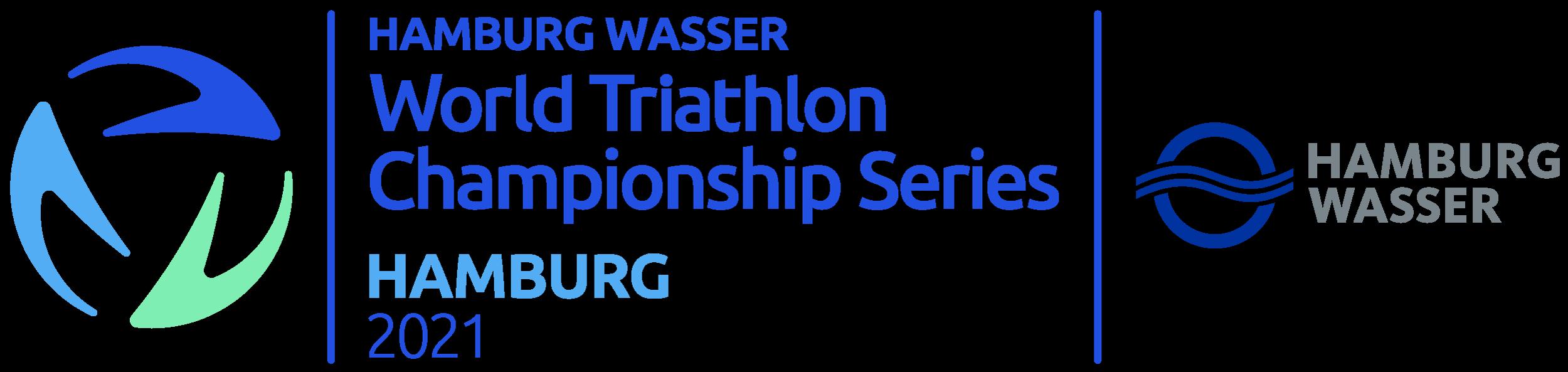 HAMBURG WASSER World Triathlon Championship Series Hamburg logo