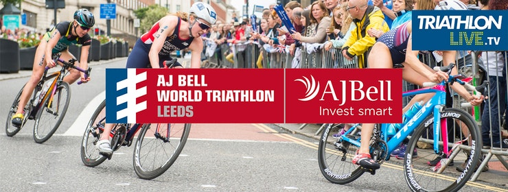 AJ BELL SIGN TITLE PARTNERSHIP WITH ITU WORLD TRIATHLON SERIES IN LEEDS