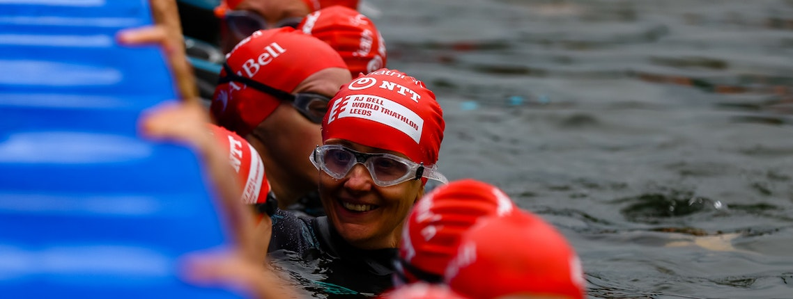 Newcomers to the sport take on GO TRI at AJ Bell World Triathlon Leeds 2019