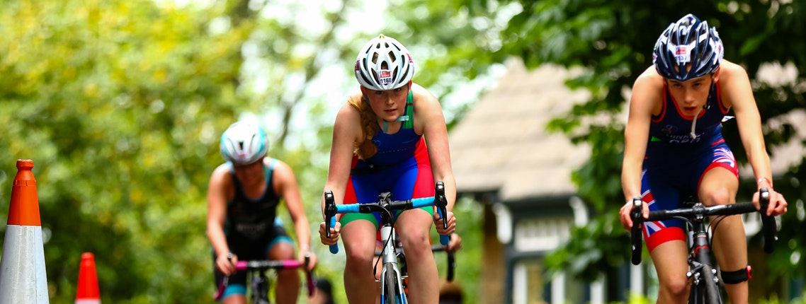 Britain's future triathlon stars on show at AJ Bell World Triathlon Leeds