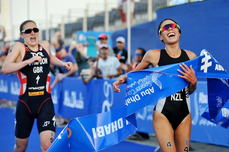 Abu Dhabi hosts star studded ITU World Triathlon Series opener