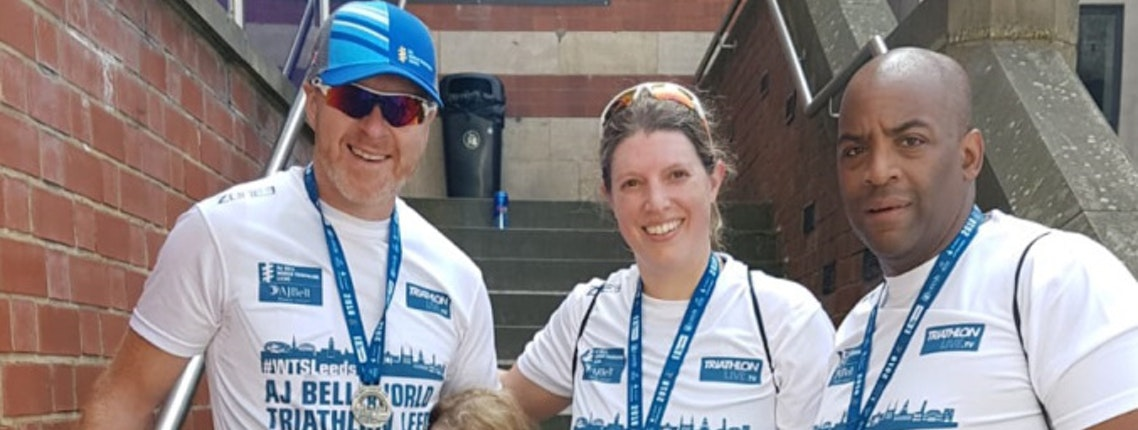 Sarah's AJ Bell World Triathlon Leeds 2018 experience
