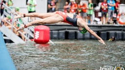 2017 ITU World Triathlon Montreal - Women