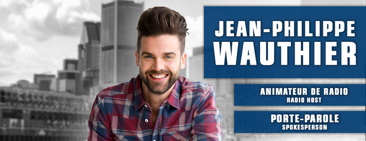 Our new spokesperson : Jean-Philippe Wauthier!