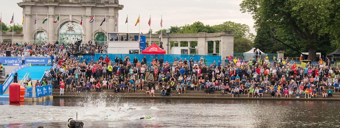 100 days until the ITU World Triathlon Series arrives in Britain