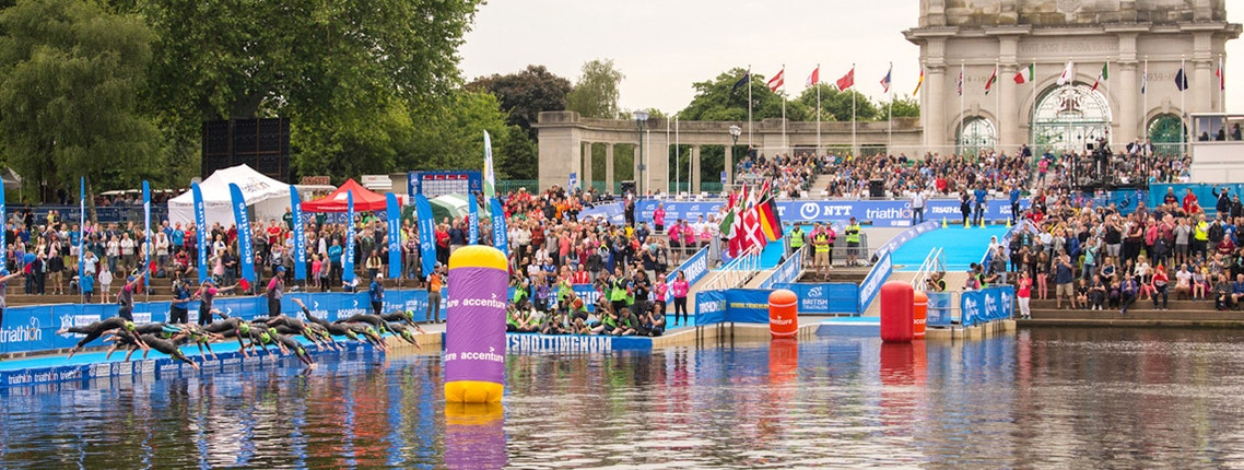 Find your results from the Accenture World Triathlon Mixed Relay Nottingham