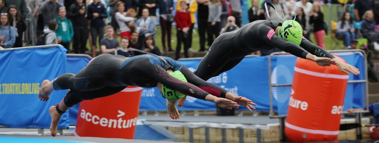 Team USA take gold ahead of Great Britain at Accenture World Triathlon Mixed Relay Nottingham