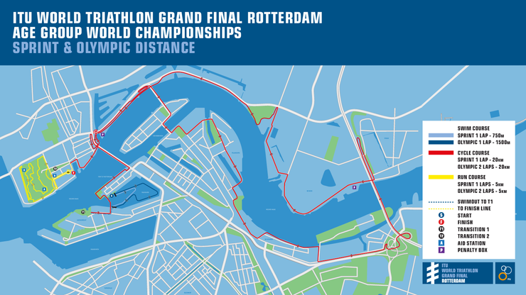ITU World Grand Final Rotterdam course announced and timetable released