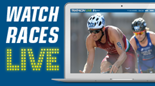 Watch races live on TriathlonLIVE.tv