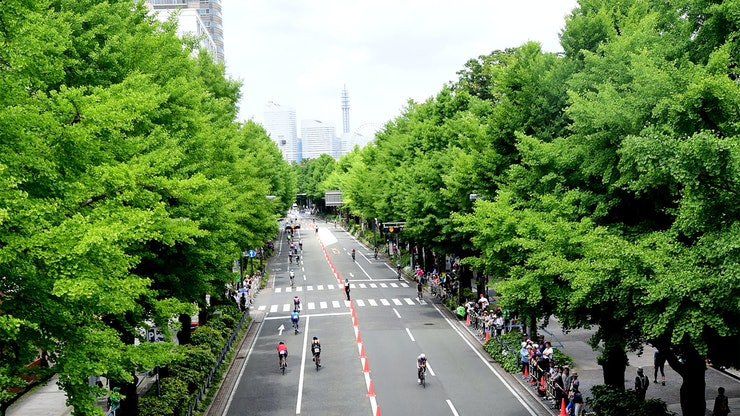 2020 ITU World Triathlon and Paratriathlon Series Yokohama about the sending of souvenirs