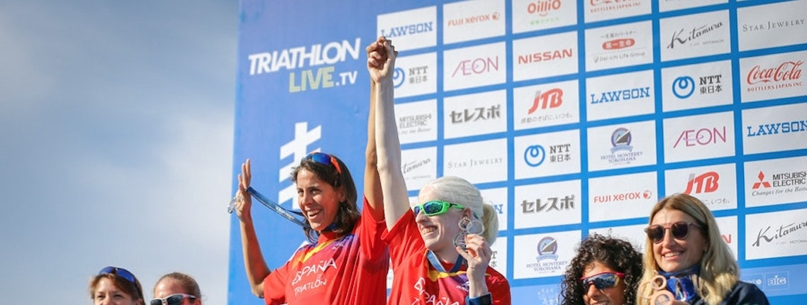 Plat, Peasgood, Norman and Rodriguez collect first WPS medals of the season in Yokohama